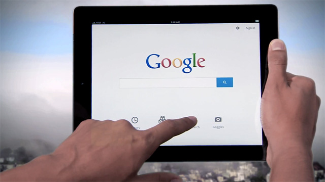 google search hand